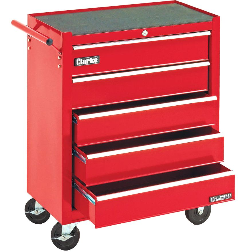 CLARKE 5 DRAWER PORTABLE TOOL CABINET - CTC500B