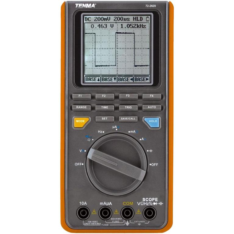 TENMA HANDHELD OSCILLOSCOPE MULTIMETER - 72-2620