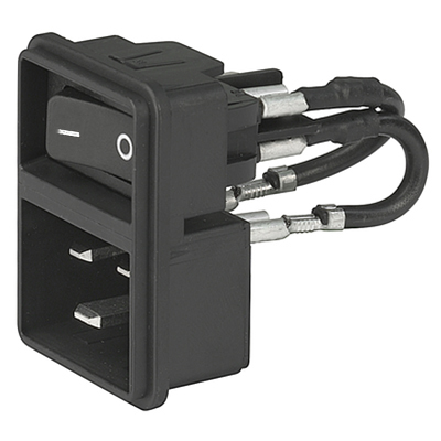 SCHURTER POWER CORDS WITH LOCKING SYSTEM - V-LOCK SERIES