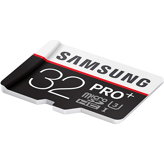 כרטיס זיכרון - SAMSUNG PRO+ - MICROSD 32GB - 95MB/S SAMSUNG