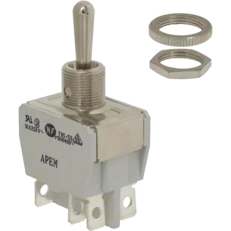 APEM PANEL MOUNTING TOGGLE SWITCHES