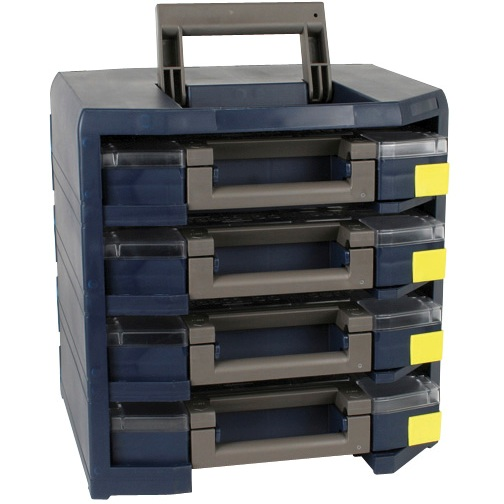 RAACO MOBILE CABINET WITH ASSORTER BOXES - HANDY BOXXSER