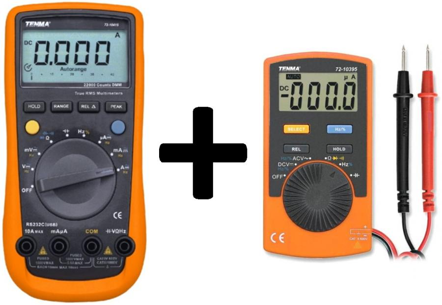 TENMA DIGITAL MULTIMETERS - PRO III SERIES