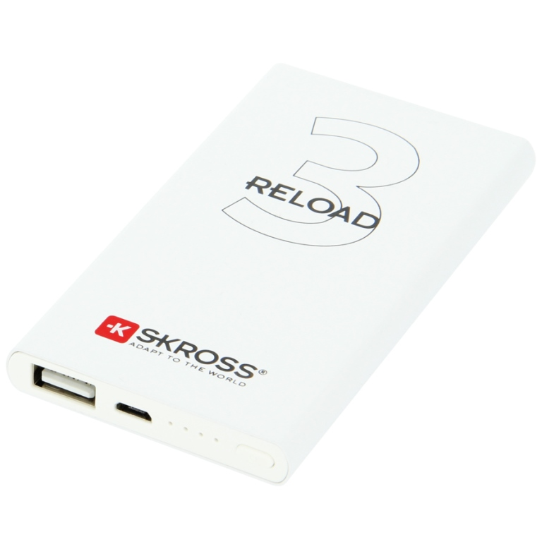 SKROSS ENERGY ON THE GO POWER BANK - RELOAD SERIES