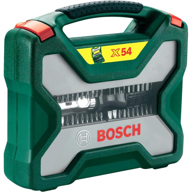 BOSCH 54 PIECE SCREWDRIVER BIT SET