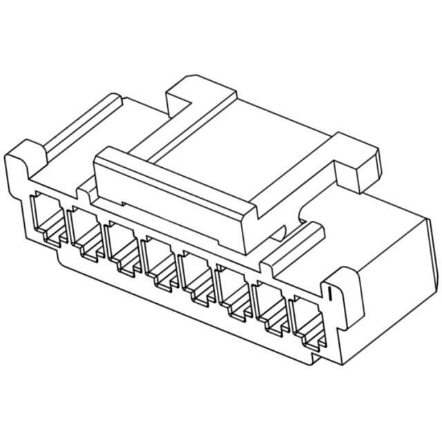 מחבר MOLEX ללחיצה לכבל - סדרת SHERLOCK - נקבה 5 מגעים MOLEX