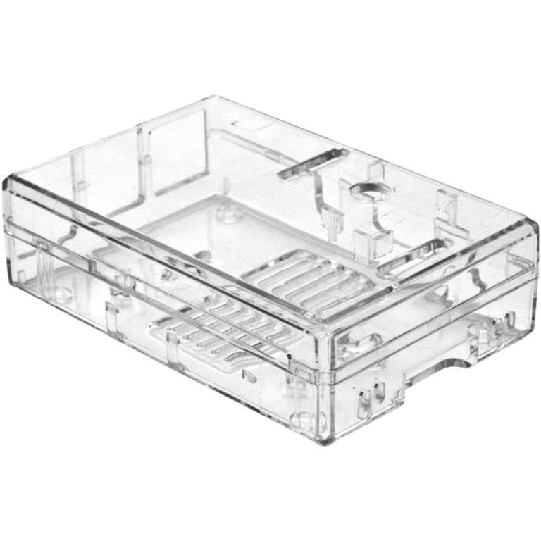 MULTICOMP CLEAR ENCLOSURE FOR THE RASPBERRY PI BOARDS