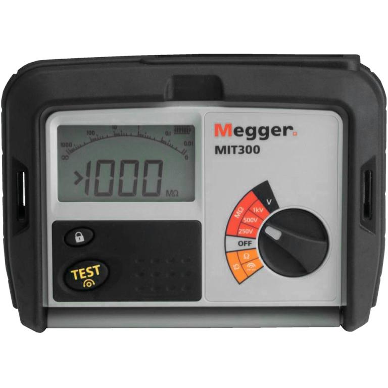 מודד בידוד / רציפות דיגיטלי - MEGGER MIT300 - 250V ~ 500V MEGGER