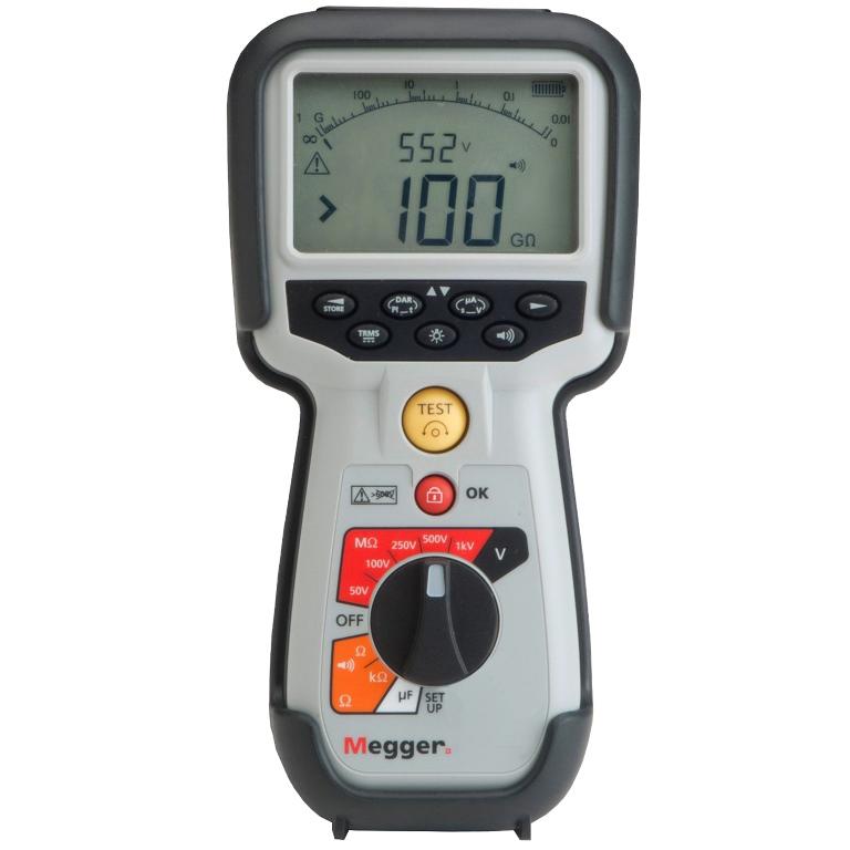 מודד בידוד / התנגדות / רציפות דיגיטלי - MEGGER MIT400 - 250V ~ 1000V MEGGER