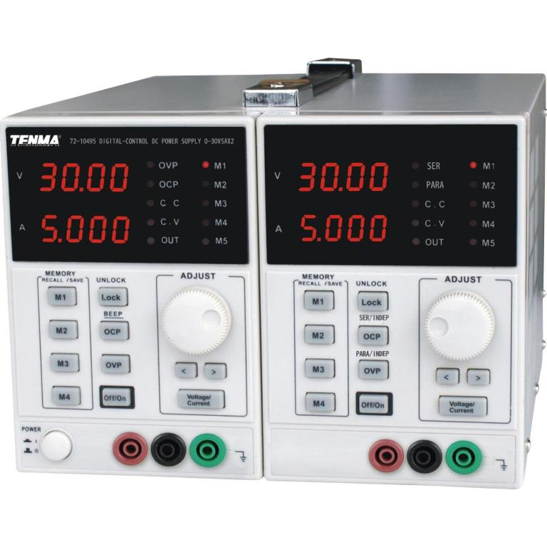 TENMA MULTICHANNEL BENCH POWER SUPPLIES