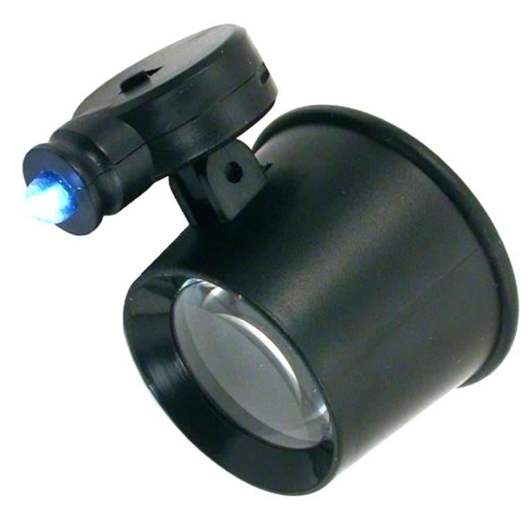 לופה עם תאורת LED - הגדלה X10 DURATOOL