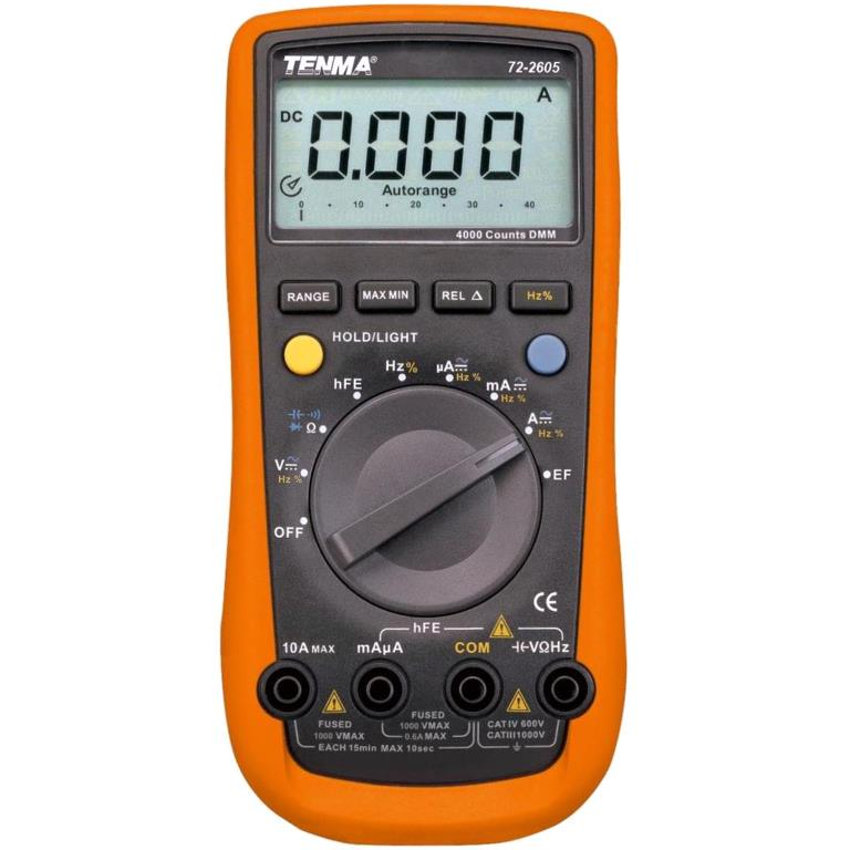 TENMA DIGITAL MULTIMETER - PRO SERIES - 72-2605