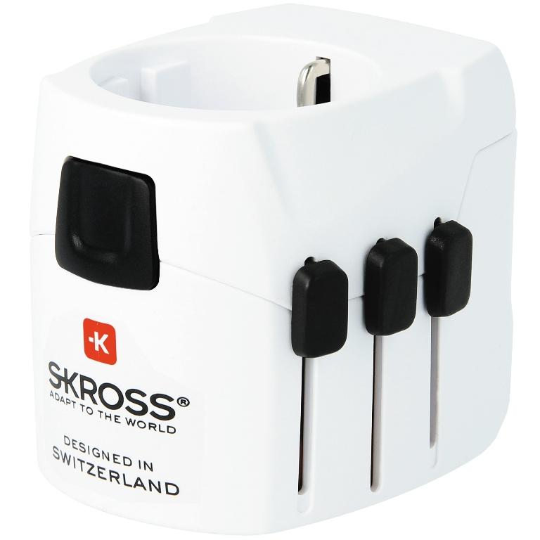 מתאם חשמל בינלאומי - SKROSS PRO LIGHT & USB SKROSS
