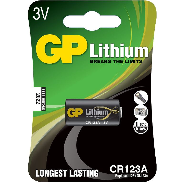 GP BATTERIES PHOTO LITHIUM BATTERIES