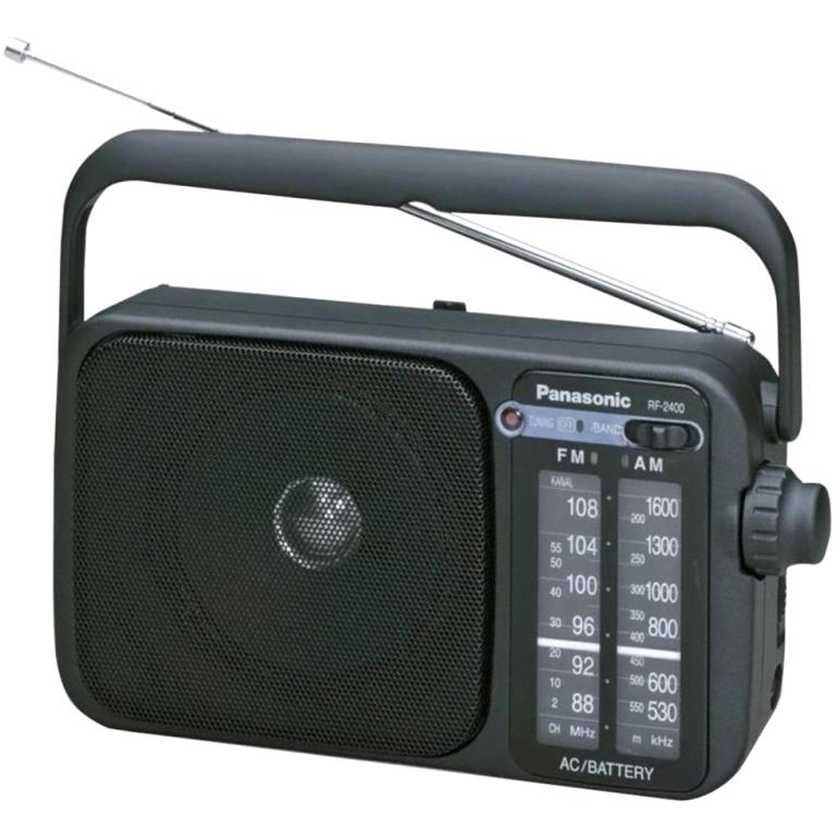 PANASONIC PORTABLE AM / FM RADIO - RF2400