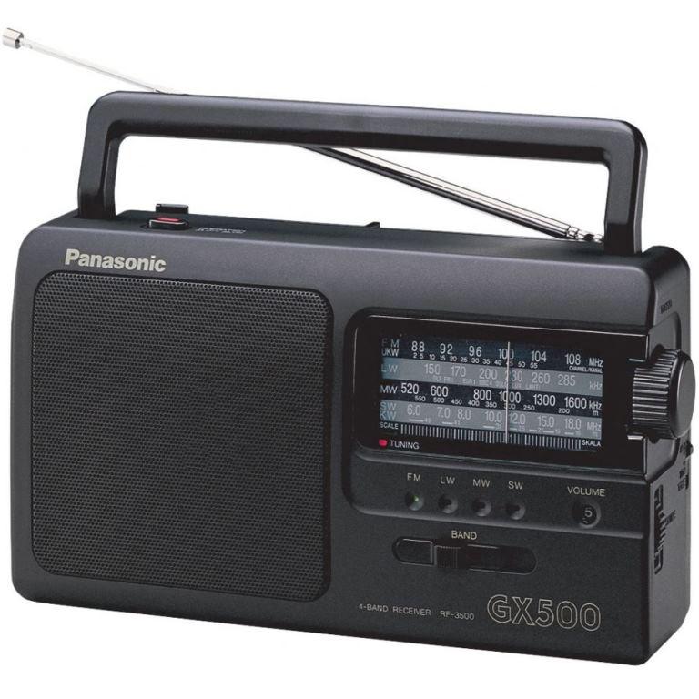 PANASONIC PORTABLE AM / FM/ LW / SW RADIO - RF3500