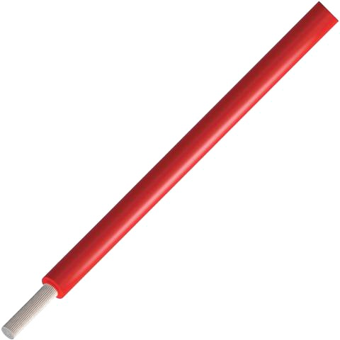 כבל חשמל גמיש לאלקטרוניקה - 24AWG - גליל 305 מטר - בידוד אדום ALPHA WIRE