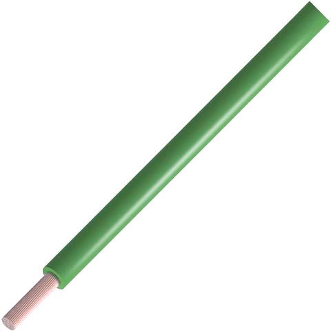 כבל חשמל גמיש לאלקטרוניקה - 24AWG - גליל 305 מטר - בידוד ירוק ALPHA WIRE