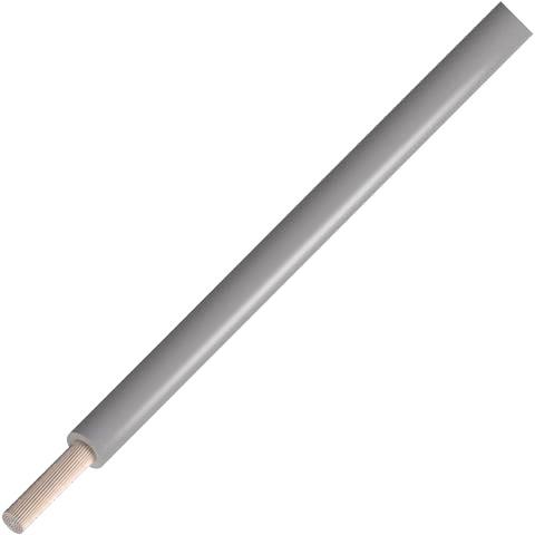 כבל חשמל גמיש לאלקטרוניקה - 24AWG - גליל 305 מטר - בידוד אפור ALPHA WIRE