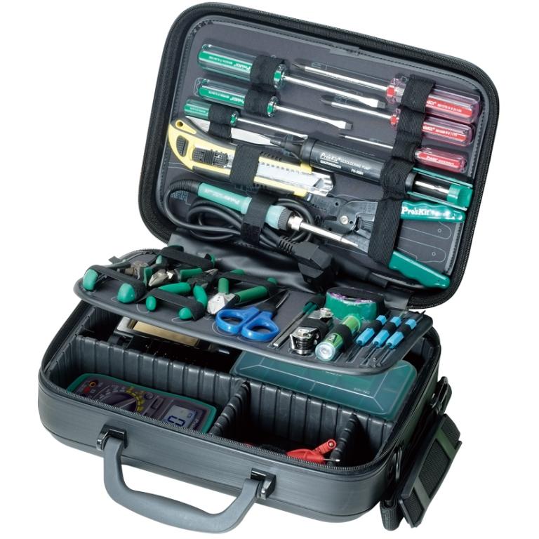 קיט כלי עבודה מקצועי לטכנאי אלקטרוניקה PROSKIT