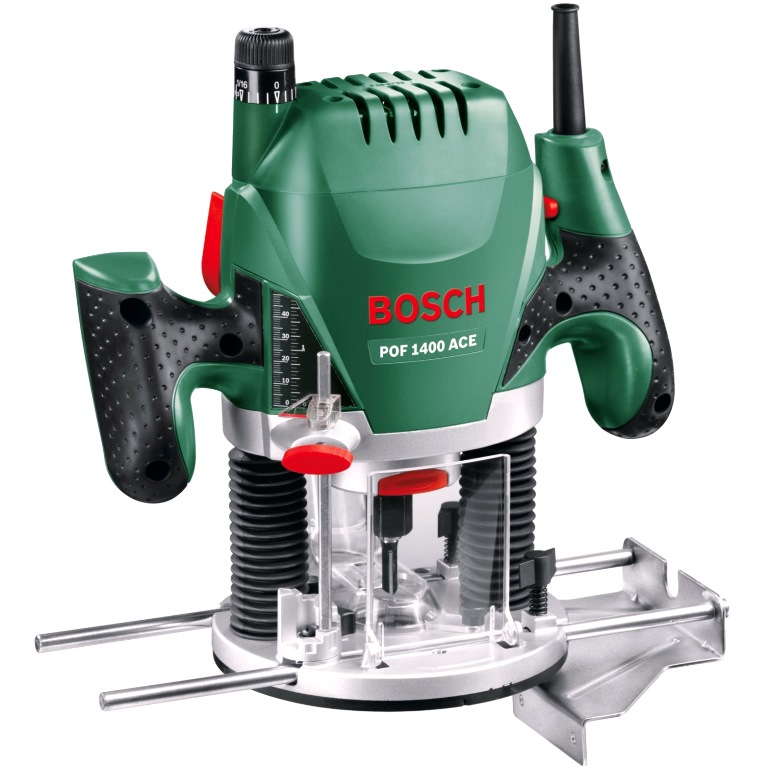 BOSCH 1400W ELECTRIC ROUTER - POF 1400 ACE