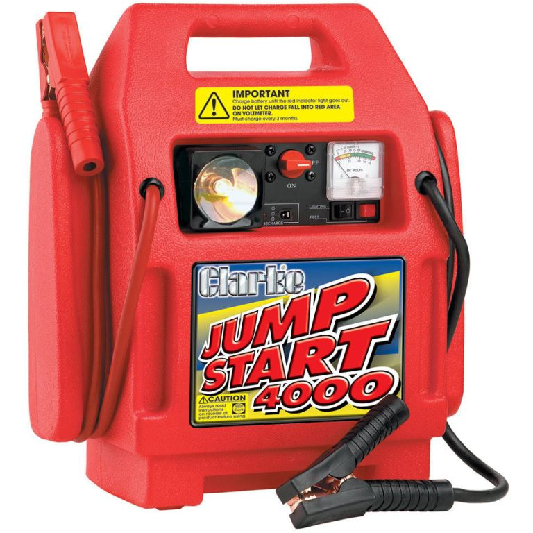 CLARKE HEAVY DUTY JUMPSTART 4000