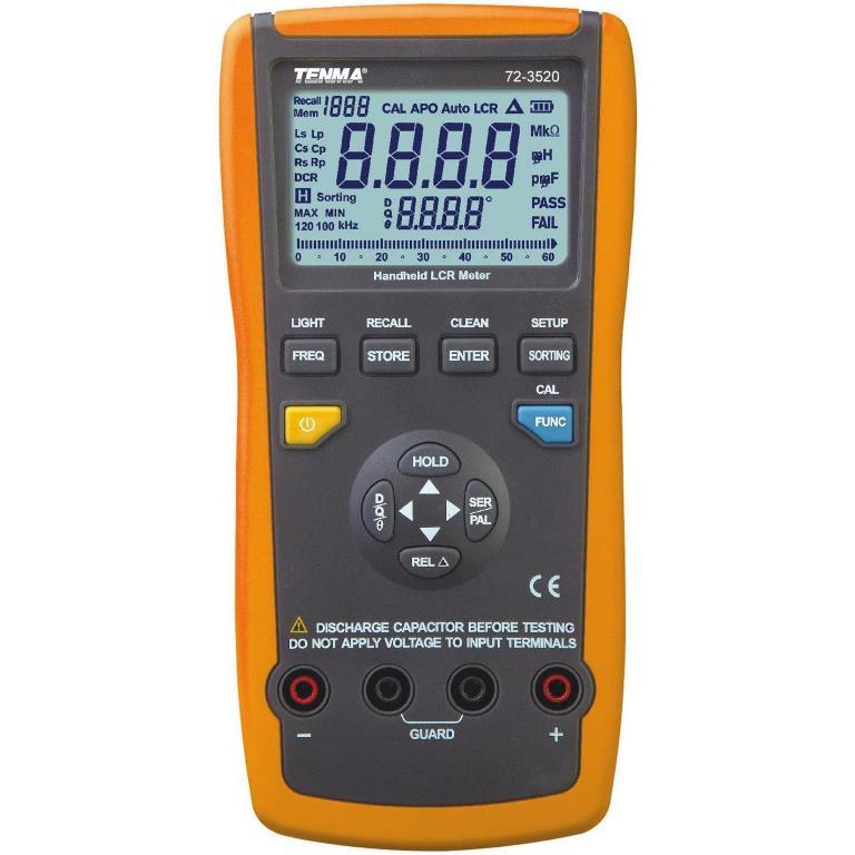 TENMA DIGITAL MULTIMETERS - LCR PRO SERIES - 72-3520