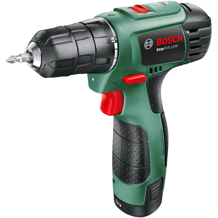 BOSCH 12V PROFESSIONAL CORDLESS SCREWDRIVER - EASYDRILL 1200