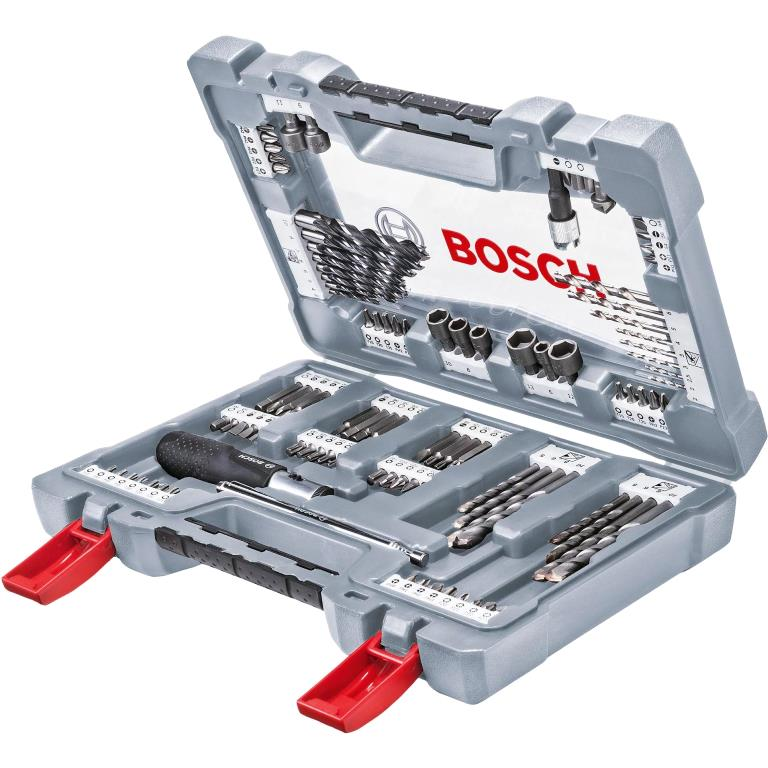 BOSCH 105PCS PREMIUM MIXED SCREWDRIVER BIT SET - 2608P00236