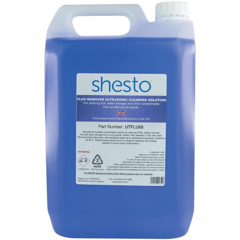 SHESTI ULTRASONIC CLEANER SOLUTION FOR FLUX REMOVER & PCB