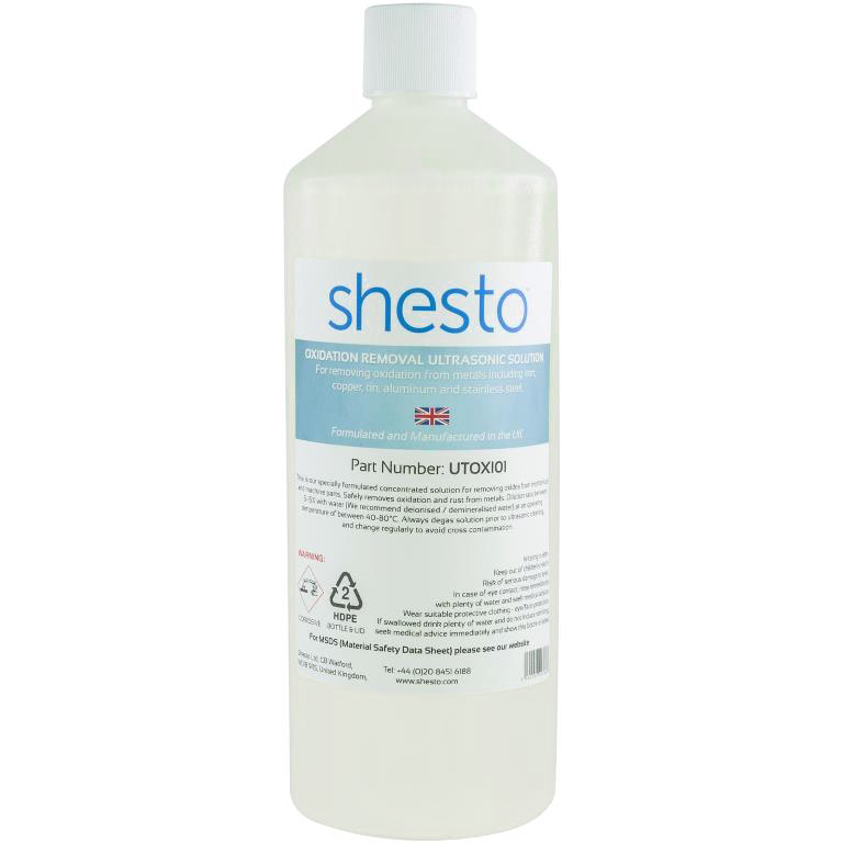 נוזל לניקוי אולטראסוני - OXIDATION - בקבוק 1 ליטר SHESTO