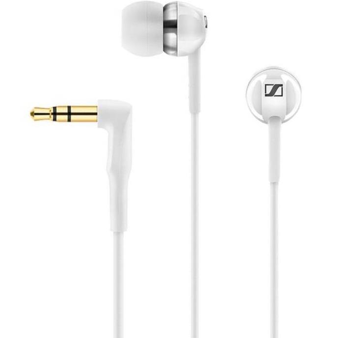 אוזניות סיליקון סנהייזר - SENNHEISER CX 1.00 WHITE SENNHEISER