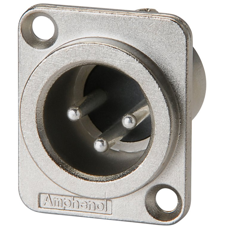 AMPHENOL AUDIO PREMIUM QUALITY XLR CONNECTORS - AC SERIES
