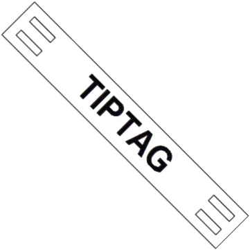 HELLERMANNTYTON TIE-ON TIPTAG WIRE MARKERS