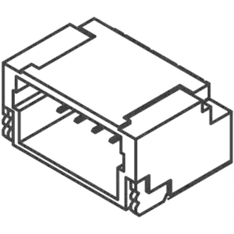 JST 1.0MM PITCH CRIMP STYLE CONNECTORS - SH SERIES