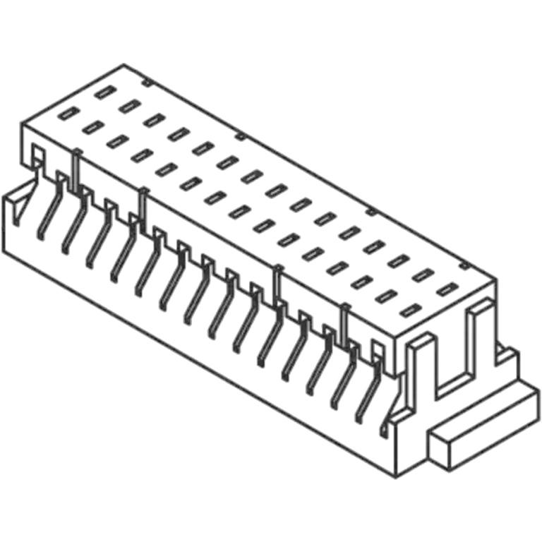 JST 1.0MM PITCH CRIMP STYLE CONNECTORS - SHD SERIES