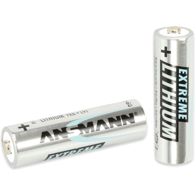 רביעיית סוללות ליתיום - ANSMANN - AA 1.5V ANSMANN