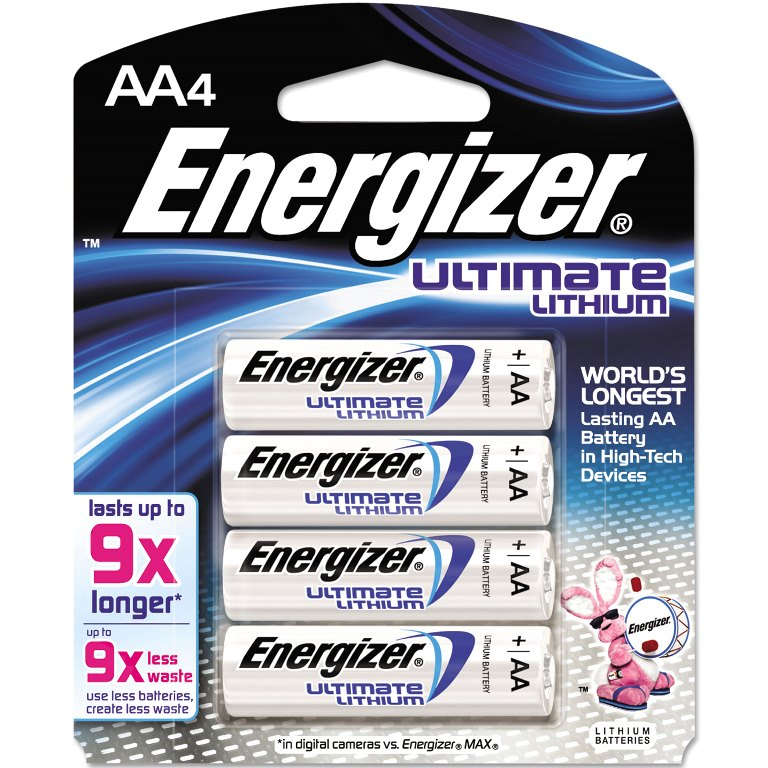 ENERGIZER ULTIMATE LITHIUM BATTERIES