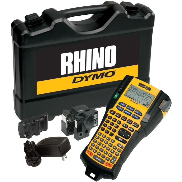 מדפסת תעשייתית ניידת RHINO 5200 (KIT) - DYMO DYMO