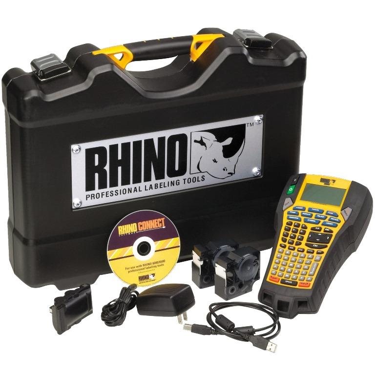 מדפסת תעשייתית ניידת RHINO 6000 (KIT) - DYMO DYMO