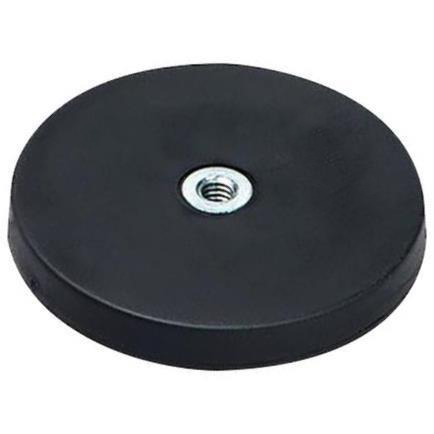 ECLIPSE MAGNETICS NEODYMIUM SHALLOW POT RUBBER COATED MAGNETS