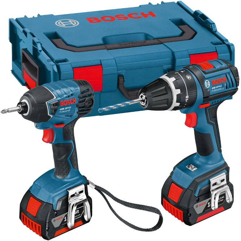 BOSCH PROFESSIONAL IMPACT DRILL & COMBI DRILL TWIN PACK
