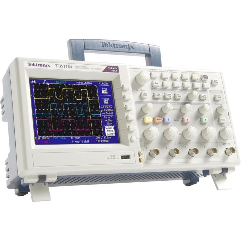 TEKTRONIX DIGITAL STORAGE BENCH OSCILLOSCOPES-  TBS1000 SERIES