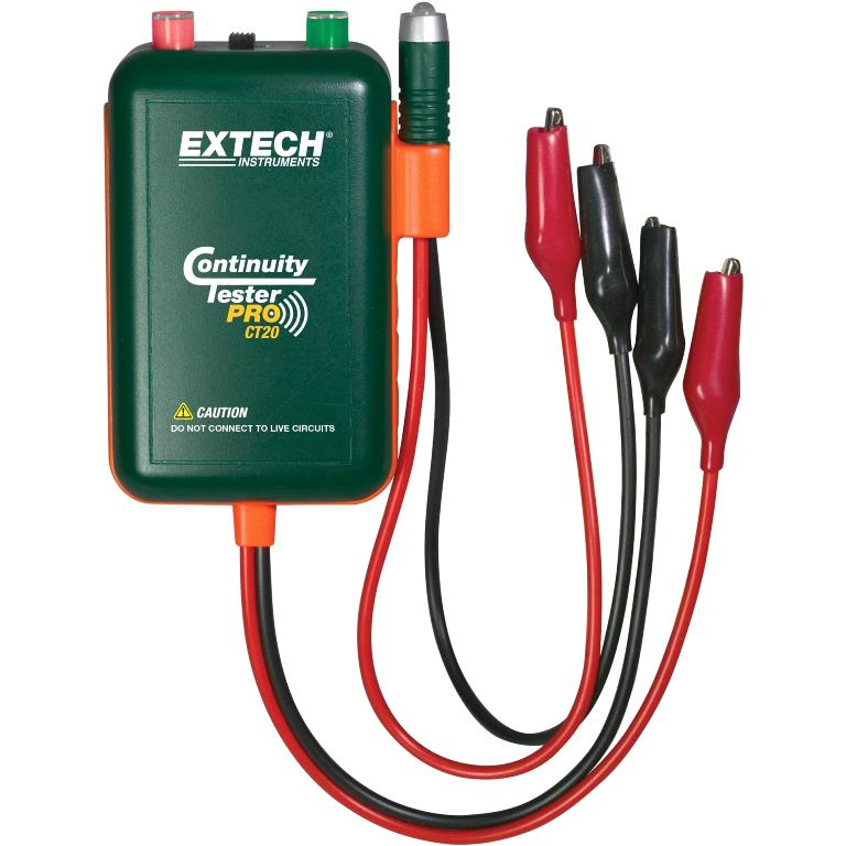 EXTECH INSTRUMENTS CONTINUITY TESTER PRO - CT20