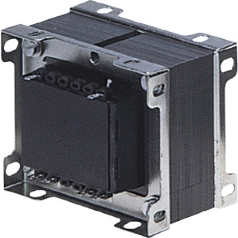 שנאי מבודד לפאנל - CTFCS - 230V ⇒ 2X12V - 6250MA / 150VA PRO-POWER