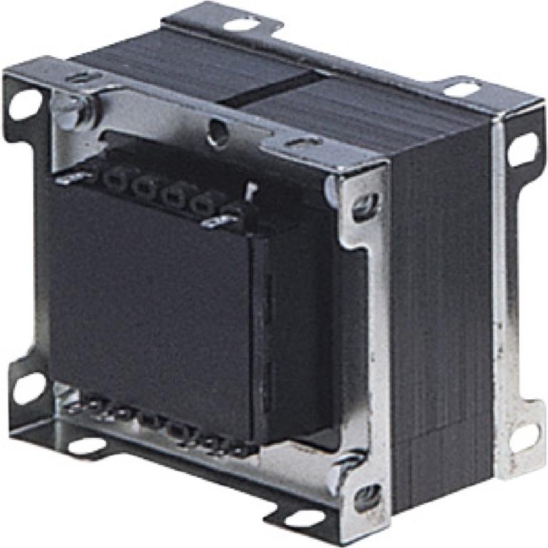 שנאי מבודד לפאנל - CTFCS - 230V ⇒ 2X18V - 4170MA / 150VA PRO-POWER