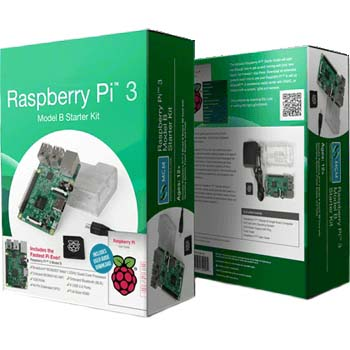 קיט פיתוח - RASPBERRY PI 3 - MODEL B+ - STARTER KIT RASPBERRY PI