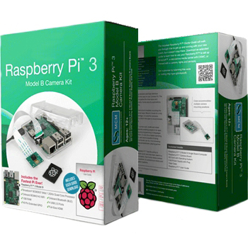 RASPBERRY PI 3 - MODEL B+ 1GB - CAMERA KIT RASPBERRY PI