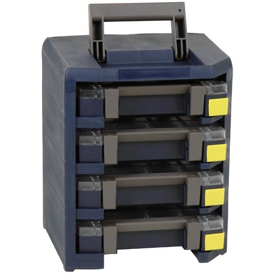 RAACO MOBILE CABINET WITH ASSORTER BOXES - HANDY BOXXSER