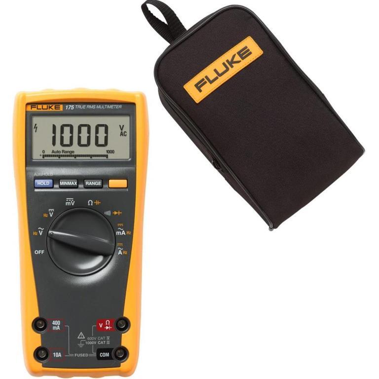 FLUKE ELECTRICIANS DIGITAL MULTIMETER - FLUKE 175